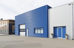 Blue Office Storage Business Insurance Property Insurance For Second Picture